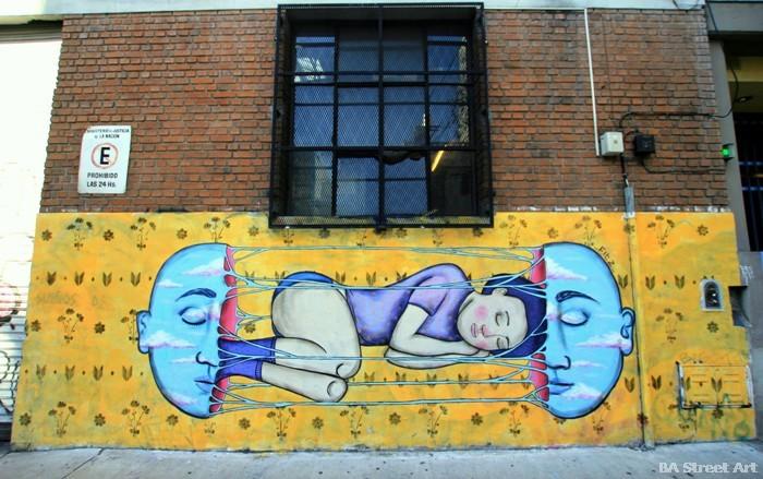 colectivo licuado buenos aires street art mural fitz arte callejero buenosairesstreetart.com