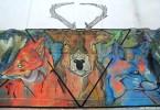 buenos aires zoo animales tour graffiti bike patxi buenosairesstreetart.com