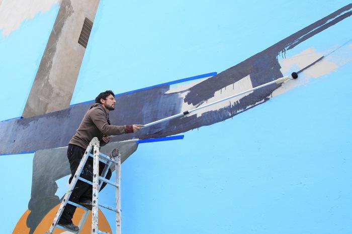 dia 2 Martin Ron proyecto Distrito de Arte Villa Urquiza ii