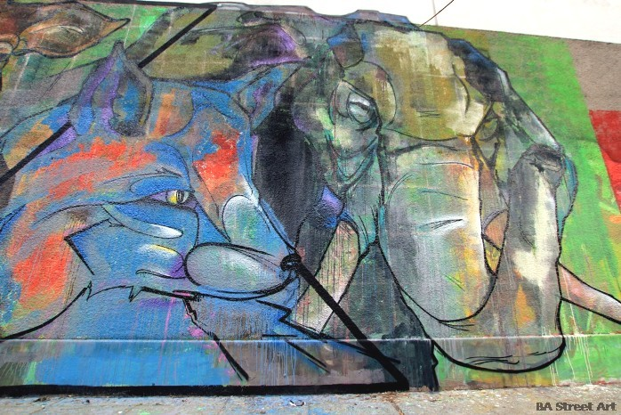 elefante zoologico buenos aires mural buenosairesstreetart.com