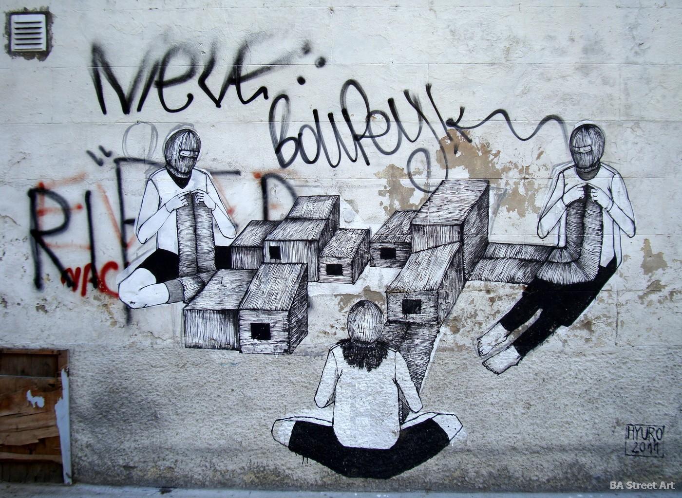 hyuro tamara djurovic artista murales argentina buenos aires arte urbano graffiti street art painter