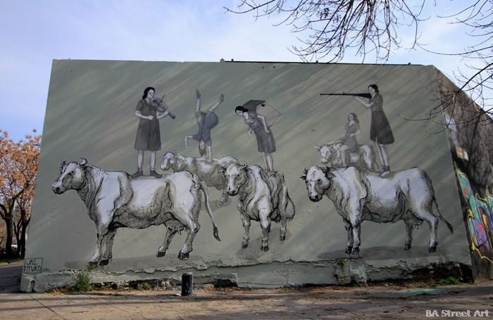 hyuro murales valencia buenos aires street art arte urbano mujeres buenosairesstreetart.com