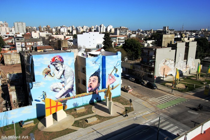 Matt Fox-Tucker street art buenos aires mural Martin Ron arte urbano buenosairesstreetart.com
