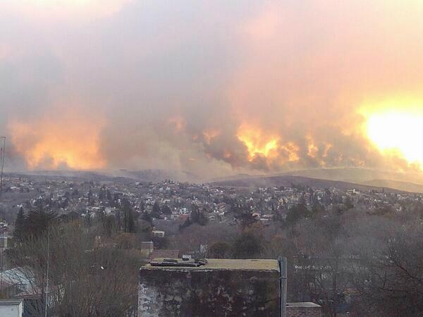 fire villa carlos paz cordoba argentina