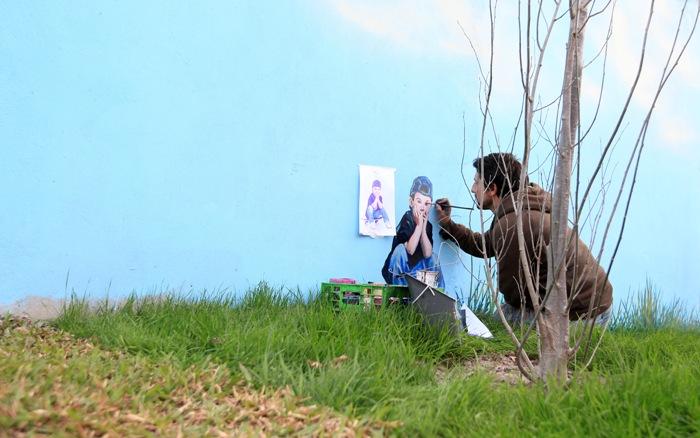 street artist martin ron buenos aires graffiti villa urquiza mural street art tour foto miguel babjaczuk
