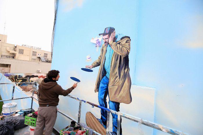 villa urquiza graffiti tour buenos aires buenosairesstreetart.com Martin Ron