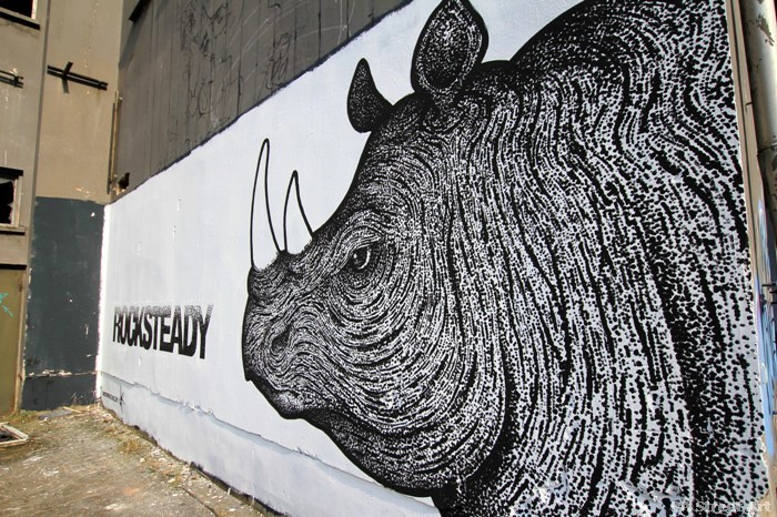 rocksteady graffiti