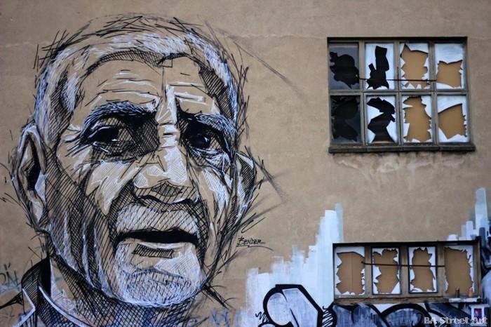 street art germany bender mural buenosairesstreetart.com