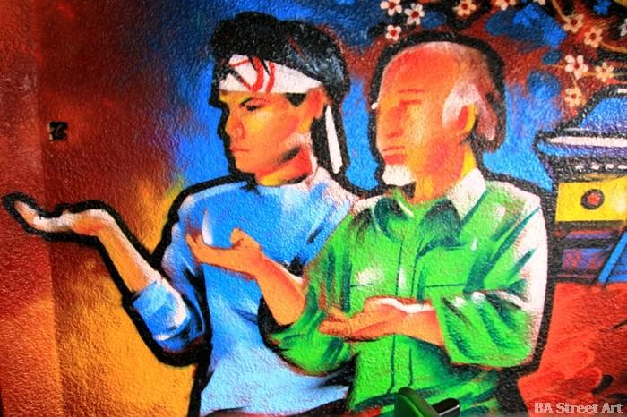 karate kid graffiti buenos aires buenosairesstreetart.com