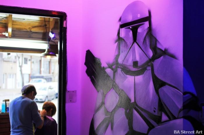 stormtrooper star wars graffiti buenos aires street art buenosairesstreetart.com