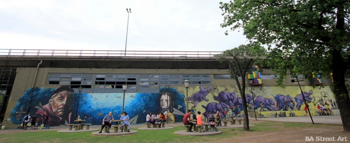 parque chacabuco buenos aires mural democracy street art autopista 25 de mayo buenosairesstreetart.com