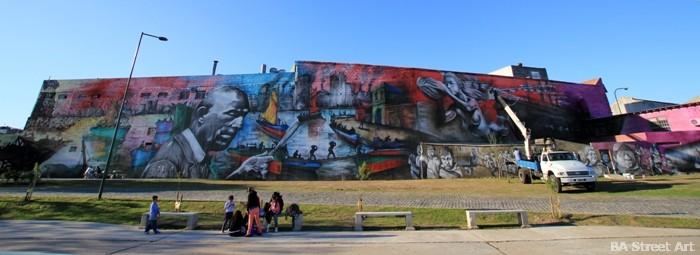 mural mas grande argentina buenos aires el regreso de quinquela mural arte urbano