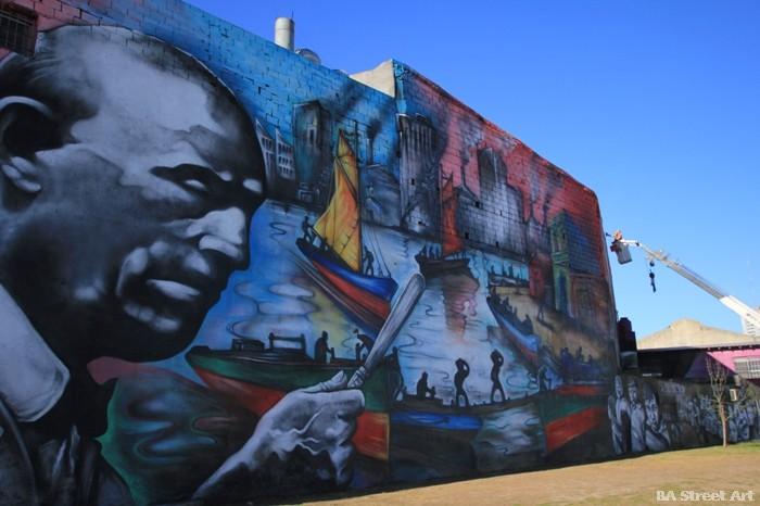 graffiti buenos aires quinquela riachuelo barracas argentina