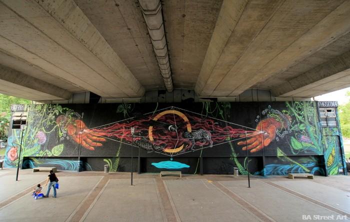 mural democracia 30+30 argentina buenos aires una mirada al futuro THG graffiti (2)
