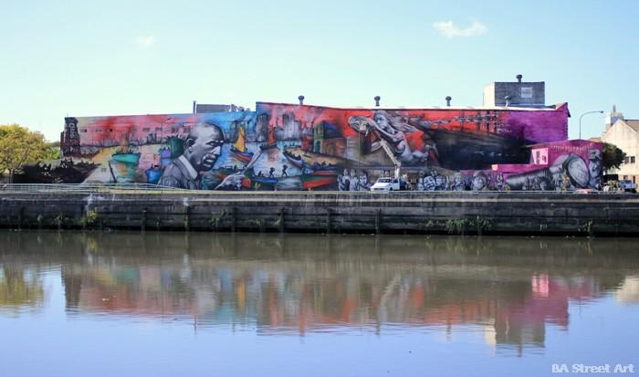 biggest mural buenos aires street art tour argentina buenosairesstreetart.com