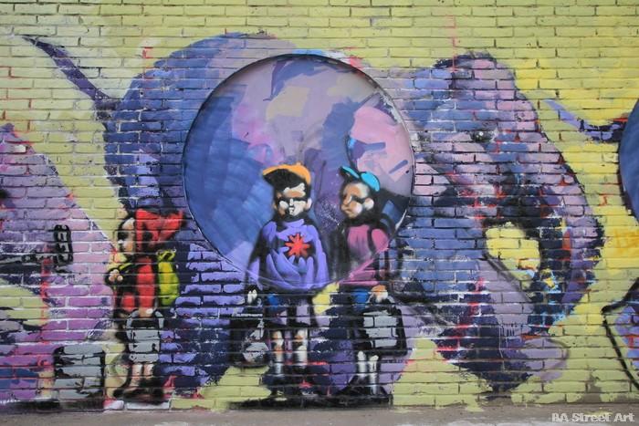 elephant graffiti street art buenos aires argentina buenosairesstreetart.com