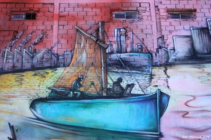 puerto buenos aires botes barracas buenosairesstreetart.com mural street art argentina buenosairesstreetart.com