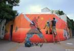 graffiti tour buenos aires graffiti tour samurai mural ice artist buenosairesstreetart.com