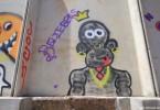 graffiti tour buenos aires justin bieber  argentina GEBA buenosairesstreetart.com
