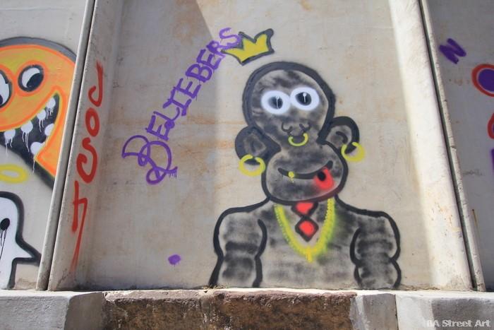 graffiti buenos aires justin bieber argentina GEBA buenosairesstreetart.com