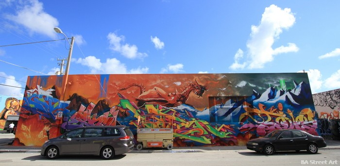 graffiti Eskae Treag Dar Diws Soten miami wynwood walls art basel miami buenosairesstreetart.com