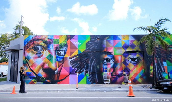 eduardo kobra street art wynwood art district salvador dali buenosairesstreetart.com