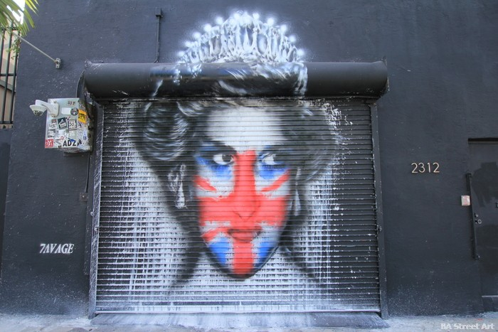 princess diana mural street art basel miami wynwood walls buenoairesstreetart.com