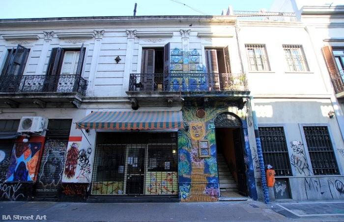 street art san telmo buenos aires BA Street Art buenosairesstreetart.com