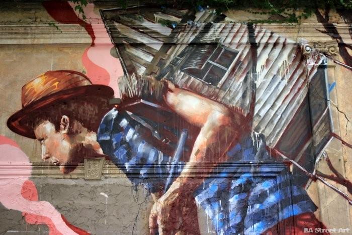 buenos aires street art tour fintan magee housing crisis artist buenosairesstreetart.com