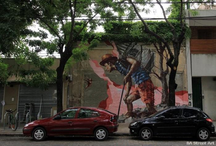 palermo graffiti buenos aires tour fintan magee buenos aires street art buenosairesstreetart.com fintan magee