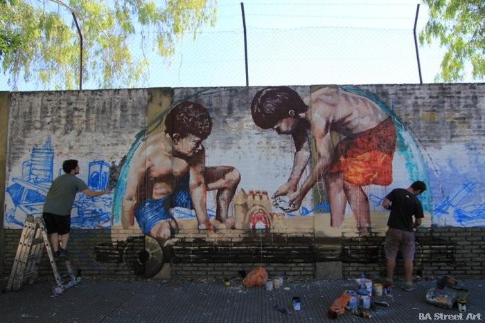 fintan magee mural martin ron graffiti argentina buenos aires buenosairesstreetart.com