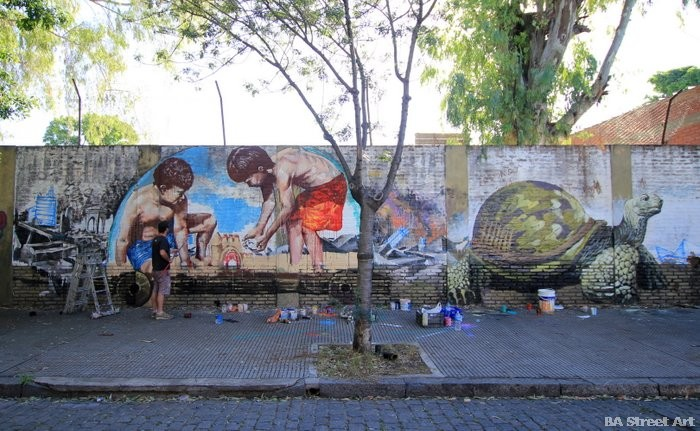 Fintan Magee artist australia buenos aires buenosairesstreetart.com