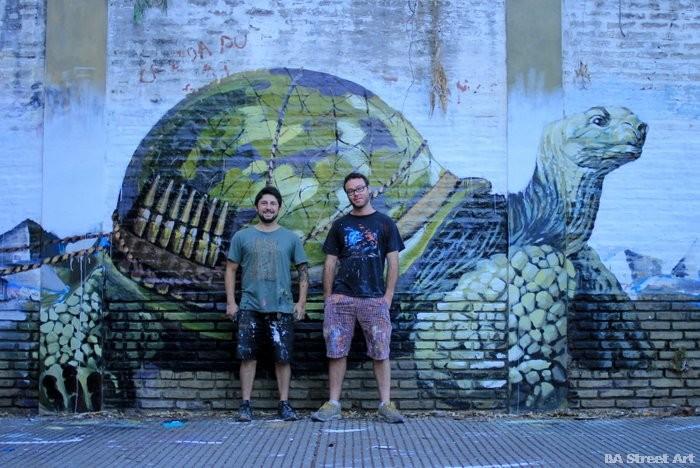 fintan magee artist martin ron mural buenos aires graffiti buenosairesstreetart.com