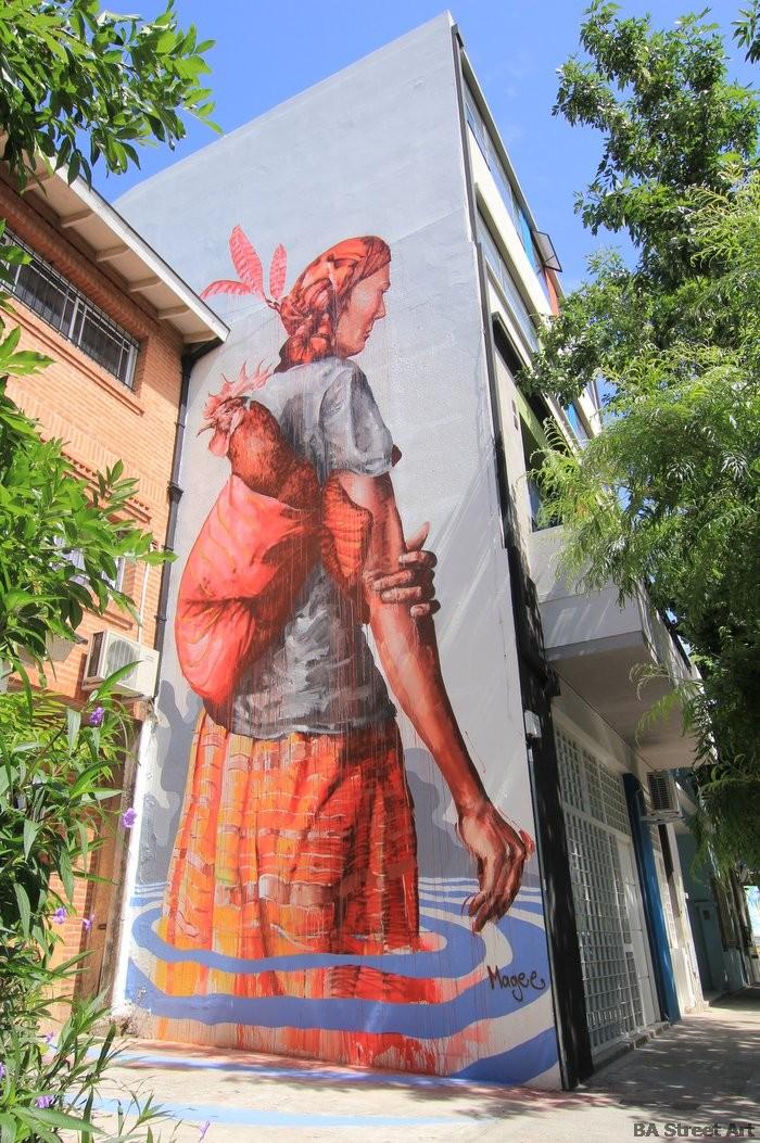 buenos aires street art tour finta magee mural artist buenosairesstreetart.com