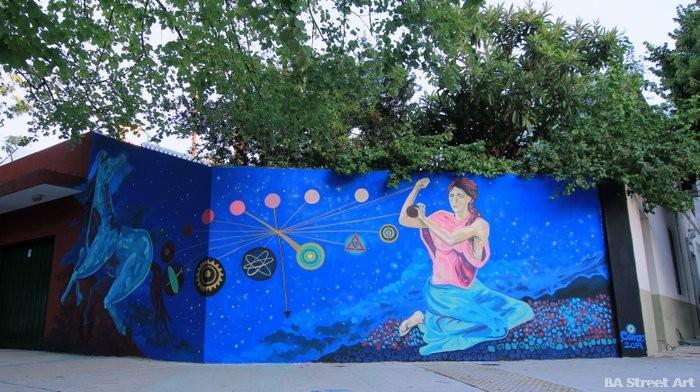 street art tour buenos aires mural project organized by BA Street Art argentina buenosairesstreetart.com