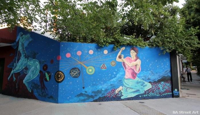 graffiti tour buenos aires new mural project organized by BA Street Art buenosairesstreetart.com
