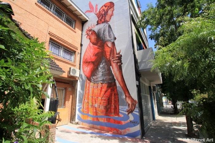 fintan magee mural buenos aires BA street art buenosairesstreetart.com