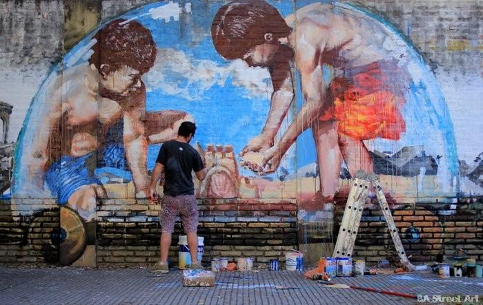 fintan magee street artist buenos aires martin ron mural buenosairesstreetart.com
