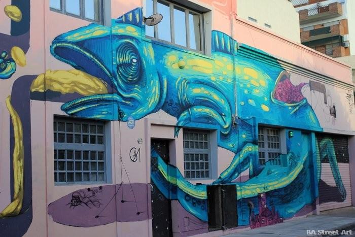 buenos aires arte urbano cameleon mural buenosairesstreetart.com