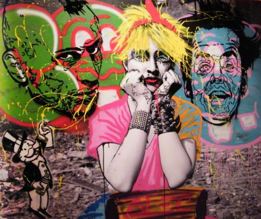 alec monopoly street artist puma urban art buenos aires 2014