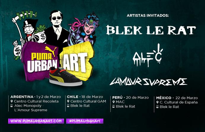 puma urban art buenos aires 2014 centro cultural recoleta alec monopoly l'amour supreme