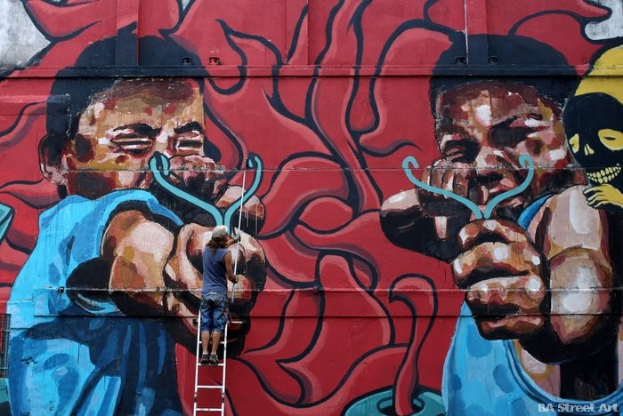 street artists buenos aires murales argentina buenosairesstreetart.com