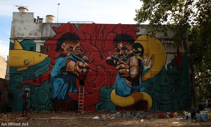 graffiti buenos aires buenosairesstreetart.com el marian gualicho argentina murales
