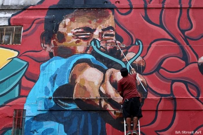 catapult mural buenos aires street art buenosairesstreetart.com el marian
