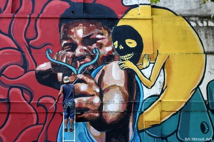 street art buenos aires buenosairesstreetart.com gualicho graffiti argentina