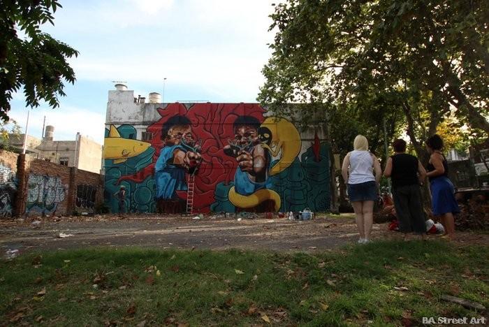 street art buenos aires villa urquiza mural urban art argentina buenosairesstreetart.com