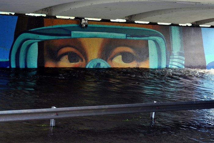 mona lisa mural cordoba street art martin ron foto veronica maggi la voz interior