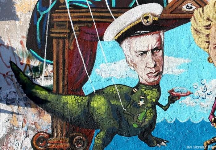 1 Martin Ron mural Falklands Malvinas Buenos Aires galtieri