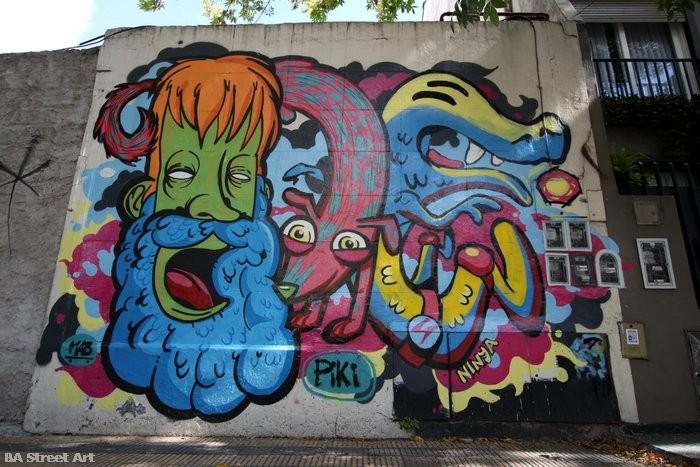 cartoon graffiti buenos aires street art buenosairesstreetart.com murales