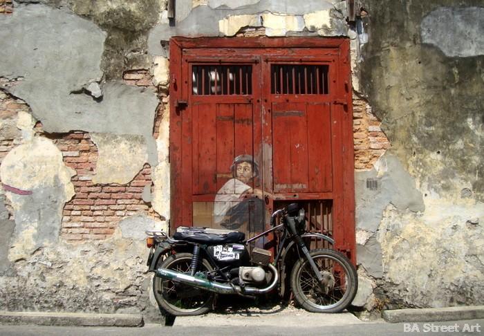 Penang Street Art And Murals By Ernest Zacharevic Ba